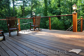 ipe decking in north carolina